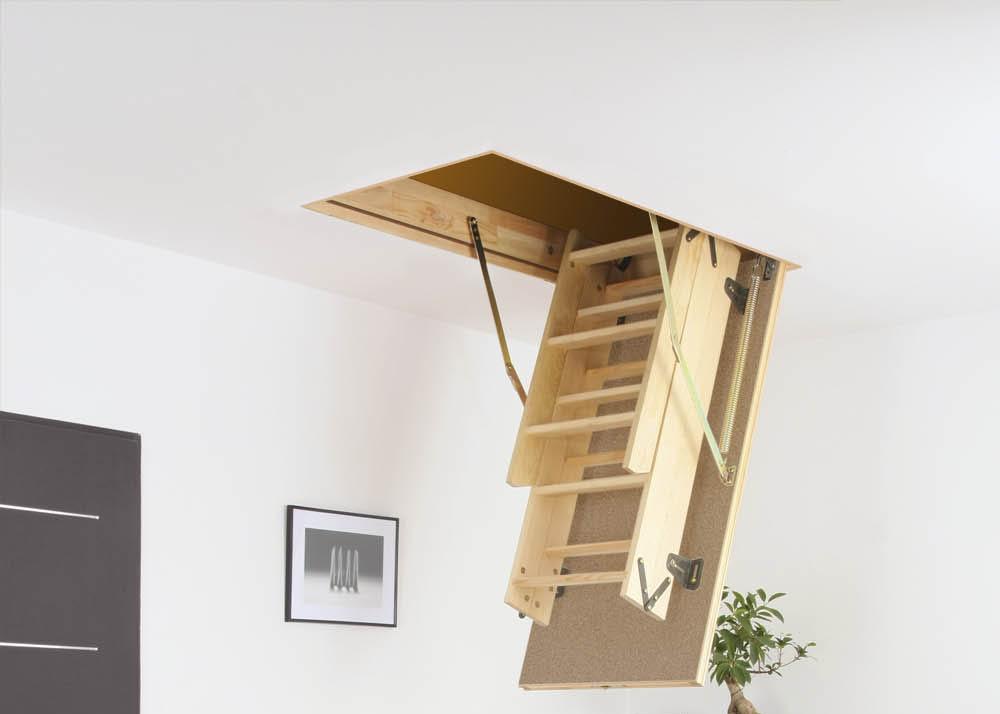 Fakro-Ahşap-Çatı-Merdiveni