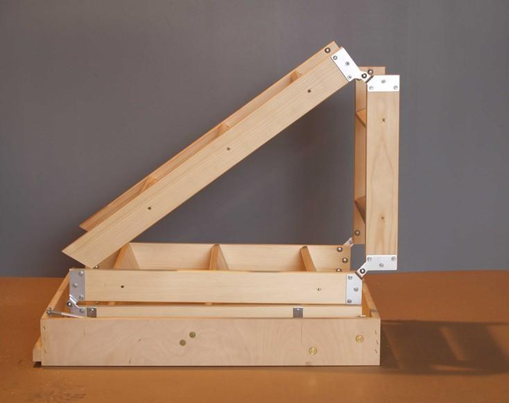 Kapaklı Çatı Merdiveni