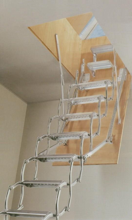 Kapaklı-Çatı-Merdiveni