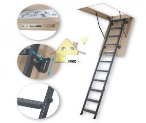 Fakro Metal Çatı Merdiveni Modelleri