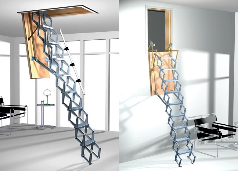 Motorlu-Makaslı-Çatı-Merdivenler